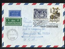 Austria 1970 Fdc Saddle Harness Post Horn Stamp Day Angels Christmas Post Mark