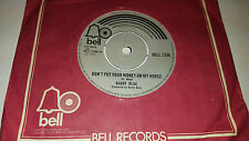 BARRY BLUE Do You Wanna Dance/ Don't Put Your Money On My Horse UK 45 Bell 1336