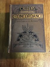 Antique Book Cruden's Complete Concordance To the Old and New Testaments