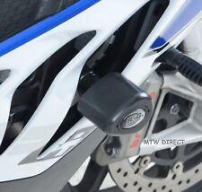 BMW S1000RR 2012 2013 2014 R&G Aero No-Cut Crash Protectors CP0308BL Black