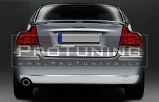 For Volvo S60 Rear Boot Trunk Spoiler Lip Wing Trim R style Door Tailgate Back