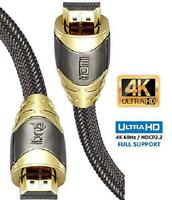 4K HDMI Cable Lead Ultra High-Speed Cord For Fire TV Ethernet Audio Video UHD