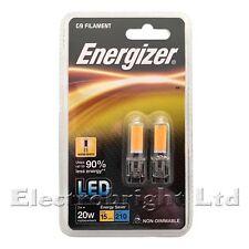 10x Energizer LED G9 Capsule Light Bulb 2w Warm White 3000k