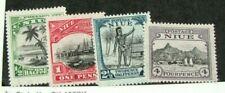 Niue Stamp Scott# 41-44 Landscapes 1942 MH W17