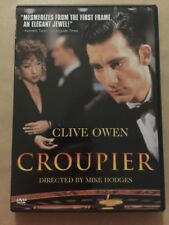 CLIVE OWEN CROUPIER REGION 1 DVD IN EXCELLENT CONDITION
