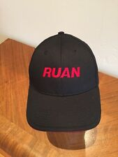 Ruan Oil Black With Red Lettering Cap Hat Adjustable