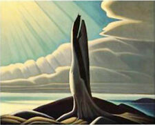"Lawren Harris, Group of Seven  ""North Shore"" Large Print"