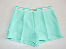 Vintage 80 90 ELLESSE Shorts XS S 46 Pantaloncini Tennis Verde McEnroe Borg