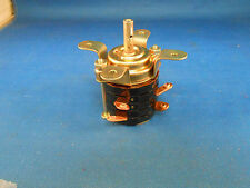 101302A-3 ELECTRO SWITCH  ROTARY SWITCH  WITH KNOB    NEW OLD STOCK