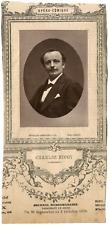 Lemercier, Paris, artiste, Opéra-Comique, Charles Nicot (1843-1899) Vintage Prin