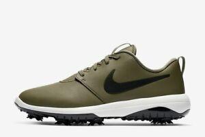 Nike Roshe G Tour Golf Shoes Men's Olive Black AR5580-200 MSRP $110