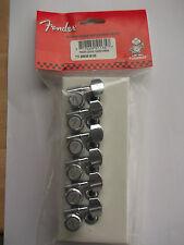 fender chrome locking machine heads/tuners am series 2 pin locating 099-0818-100