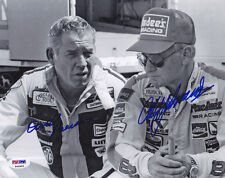 David Pearson Cale Yarborough DUAL SIGNED 8x10 Photo NASCAR PSA/DNA AUTOGRAPHED