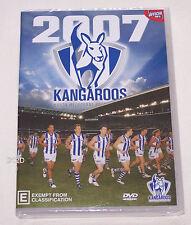 North Melbourne Kangaroos AFL 2007 Season Highlights DVD New