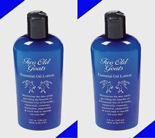 *2* 8oz TWO OLD GOATS Arthritis & Fibromyalgia Essential Oil Lotion Pain Relief!