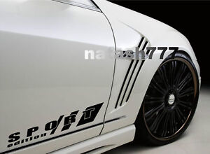 SPORT EDITION Racing Performance Car Truck SUV Vinyl Decal sticker emblem logo