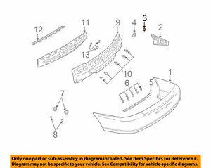 ( 1 )GENUINE GM 11519451 RIVET-Dome HD Type TFN Brk Mandrel Blind 01-05 L Series