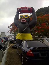 Car Lot 20' Inflatable Gorilla Kit, Car Dealer Inflatable, FREE DELIVERY