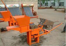 Brand New QMR2-40 Manual Clay Interlocking Brick Making Machine Shipped by Sea