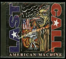 Last Call American Machine CD private indie metal Harrisburg PA