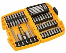 DeWalt Screw Driving Bit Accessory Set Screwdriver Nut 45 pcs in Storage Case