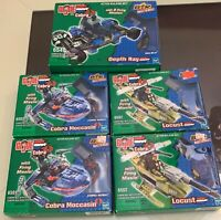 Hasbro G.I. Joe vs. Cobra Built to Rule Lot Locust Depth Ray, Cobra Moccasin