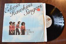 Edwin Hawkins Singers Genius Of… Gospel shrink Record lp NM