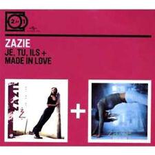 2 CD ZAZIE Je, Tu, Ils - Made In Love  ++++++++++++++++