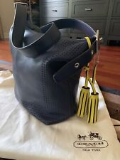 Coach Legacy Perforated Leather Duffle Shoulder Crossbody Bag, #22762 SVB3U $398