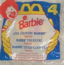 McDonald's Barbie Cool Country Barbie #4 1994 NEW