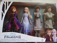 Disney Frozen 2 Forest Expedition Set 11-Inch Doll 4-Pack Anna, Elsa, Ryder, Hon