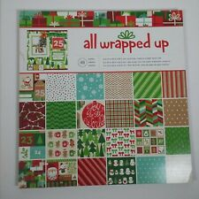 American Crafts All Wrapped Up Christmas Patterned Paper 48 Pack 12X12 Scrapbook