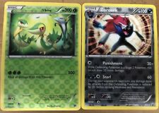 Pokemon Snivy & Zoroark Bw19.-3D Jumbo/Oversized Card New With Mint Condition!!