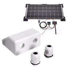 SOLAR PANEL JUNCTION BOX CABLE ENTRY MOUNTING BRACKET SETS MOUNT SETS GLAND
