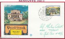 ITALIA FDC FILAGRANO VILLE D'ITALIA VILLA SANTA MARIA CAPO PULA CA 1985 Y902