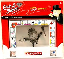 New Etch A Sketch Monopoly 60th Anniversary Limited Edition Free Shipping