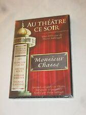 DVD AU THEATRE CE SOIR - MONSIEUR CHASSE FEYDEAU FLEURY ROUX SABATIER  NEUF