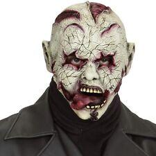 Maske ZOMBIE HORRORCLOWN Halloweenmaske  Erwachsene Clown Psycho Horror #846
