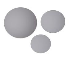 Set of 3 Round tinted mirrors