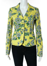 MOSCHINO CHEAP AND CHIC Multicolored Cotton Floral Print Button Down Blazer Sz 8