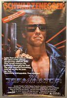 RARE THORN EMI VHS Version The Terminator 1984 Large Poster Schwarzenegger vtg.