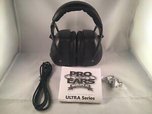 Pro Ears® PRO MAG GOLD™ Electronic Earmuff NRR 30, Black, # GSDPMBBX