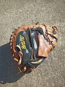 All Star CM3030 Baseball Catcher's Mitt-MVP Right  Hand * NEEDS Partial Relace *