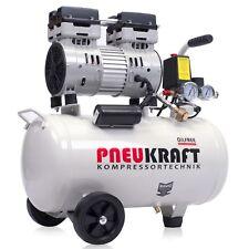 Flüster Kompressor Pneukraft Ölfrei 24L Luftkompressor Druckluft Leise 750W 65dB
