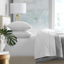 Super-Soft 450-Thread Count Cotton Sheet Set (Choose Color & Size)