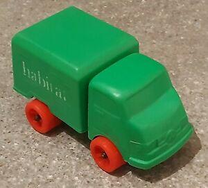 vintage Green Plastic HABITAT Delivery Truck