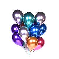 CONFETTI METALLIC PEARL LATEX BALLOONS Wedding Birthday Party UK