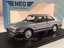 NEO SCALE MODELS 1/43 Saab 90 1985 Light Blue NEO43674