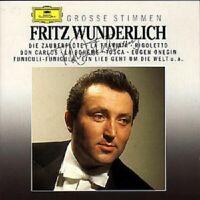 """FRITZ WUNDERLICH """"GROßE STIMMEN"""" CD NEW!"""