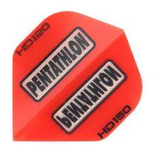 15 Pentathlon HD150 Standart Flights - Extra Stark 150 Micron - Rot